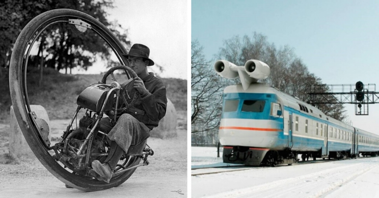 11 of the Wackiest Vehicle and Transportation Ideas Ever Devised