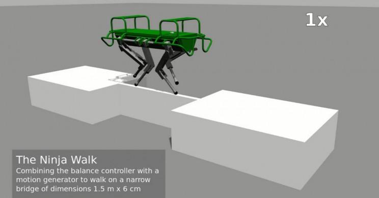Robot Ninja Walk