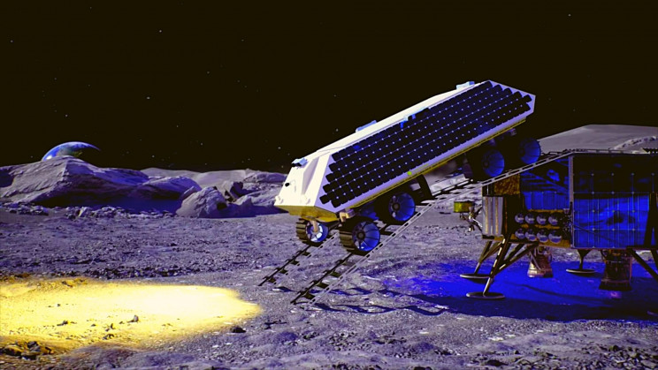 Space Miners Want to Blow Up the Moon's Surface to Harvest Water