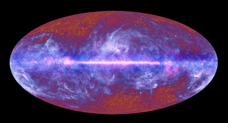 The Universe at wicrowave wavelengths, according to a survey of the night sky