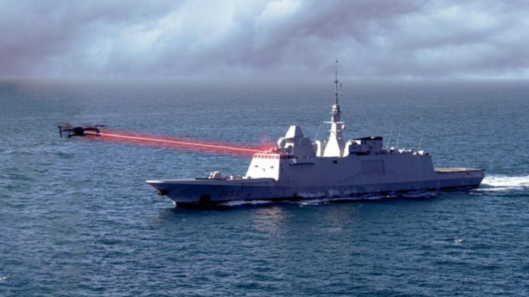 French Navy Will Soon Test a Laser Weapon System Against Drones