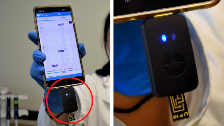 No More Lab Queues: Smartphone Integrated Diagnostic Tool Gives Rapid Results