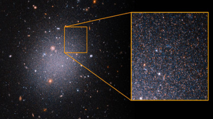 Scientists Perplexed by Galaxy Without Dark Matter