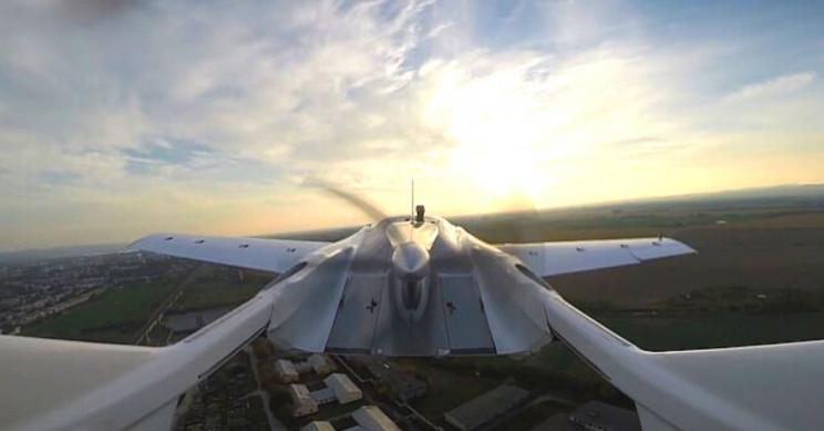 AirCar Rear Toward Propeller