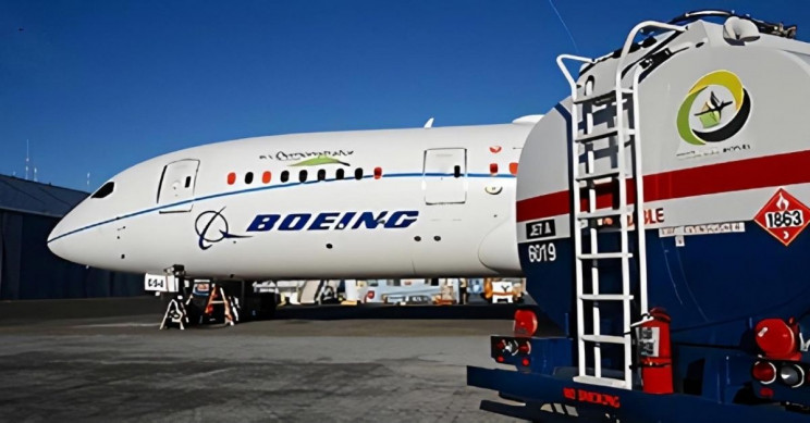 Boeing to Use 100% Sustainable Fuel on All Planes by 2030