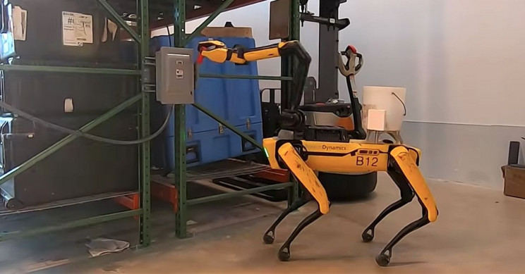 Boston Dynamics Shows off Spot the Robot Dog's Arm Tricks in New Video