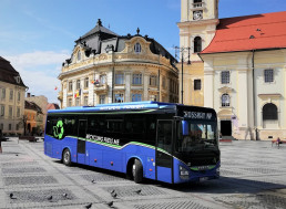 One of the Sustainable Buses of the Year Runs on Natural Gas