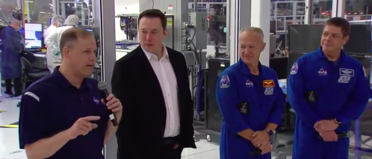 NASA and SpaceX Aiming For a Manned Mission to Space in Early 2020