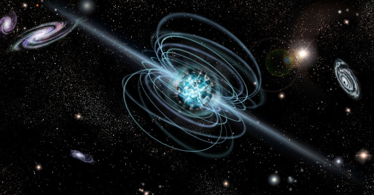 The Collision of Stars Creates Some of the Strongest Magnets in the Universe