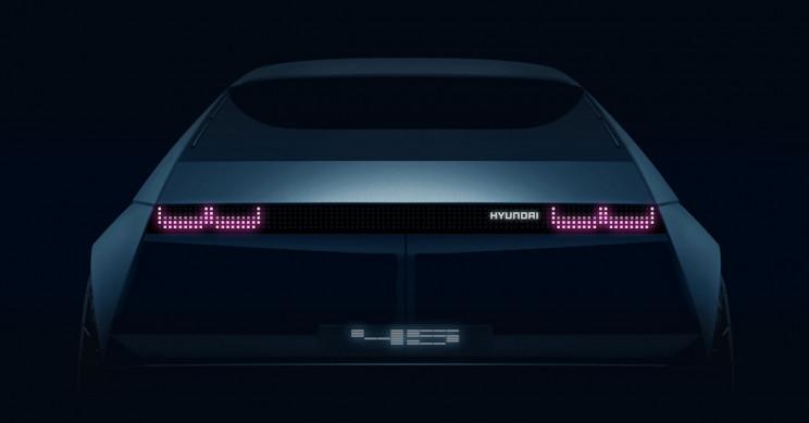 Hyundai Will Showcase Its New EV Concept '45' at the Frankfurt Motor Show