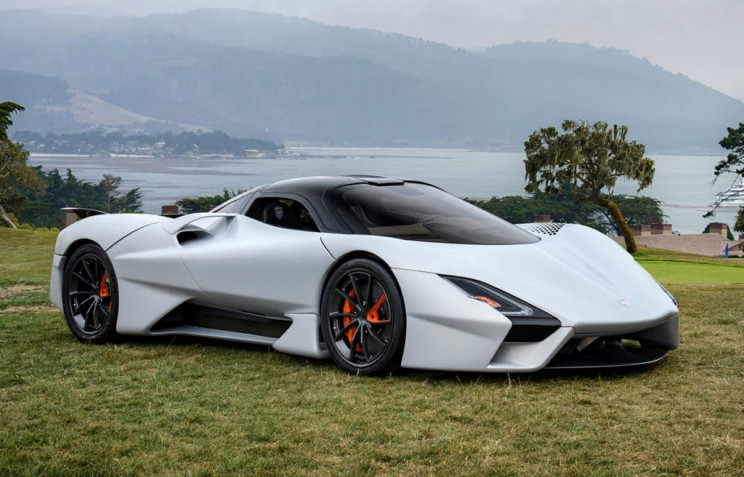 Watch the SSC Tuatara Hypercar Blast from 60-120 MPH in 2.5 Seconds
