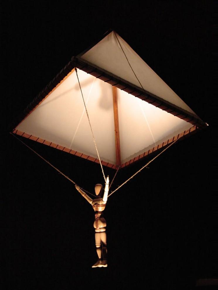 Da Vinci's Parachute