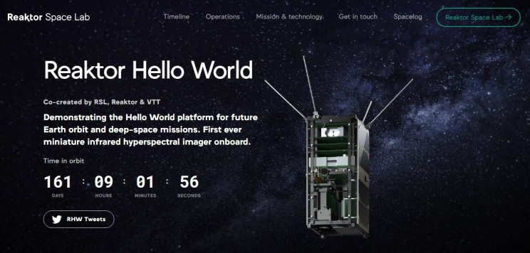 nano-satellites Hello world