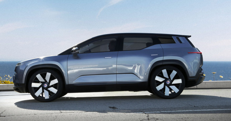Fisker's Ocean Electric SUV Seen in Action for the First Time