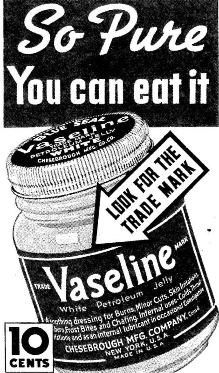 accidental discoveries vaseline