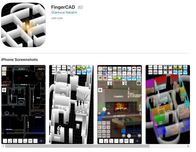 finger CAD