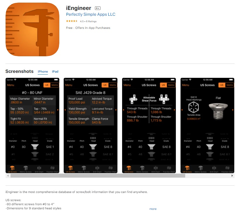 iEngineer engineering app