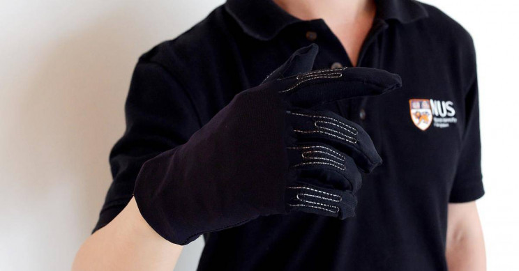 This Smart Gaming Glove May Soon Merge Humans with Machines