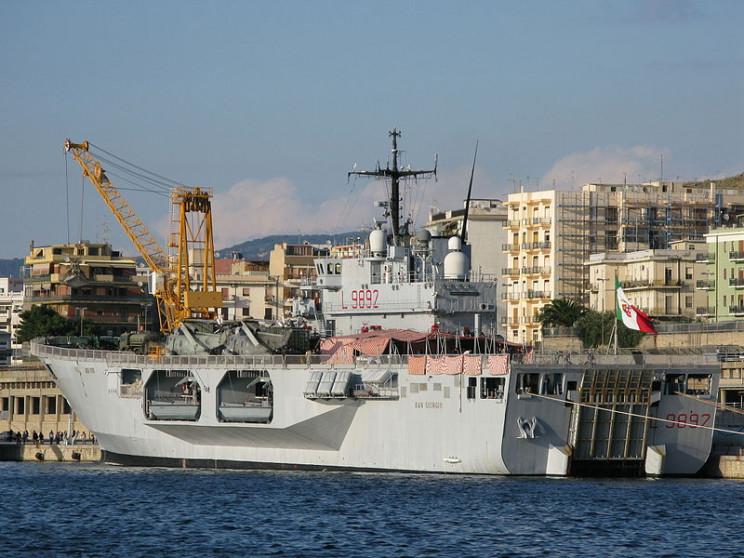 amphibious assault ship san giorgio