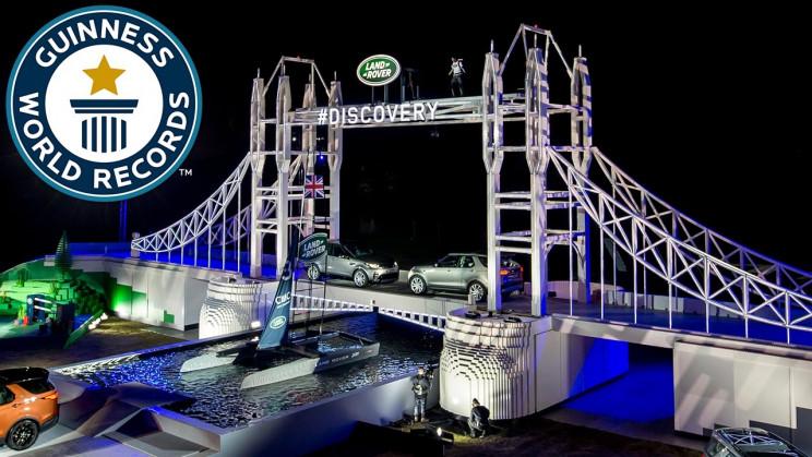biggest lego bridge