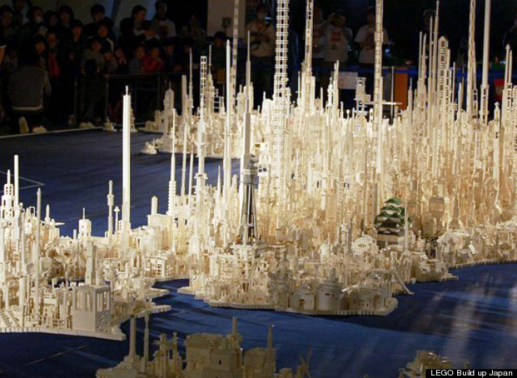 replica of Japan in LEGO