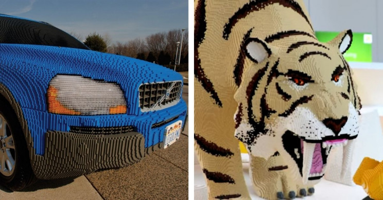 15 of the Best Sculptures Made With LEGO Bricks