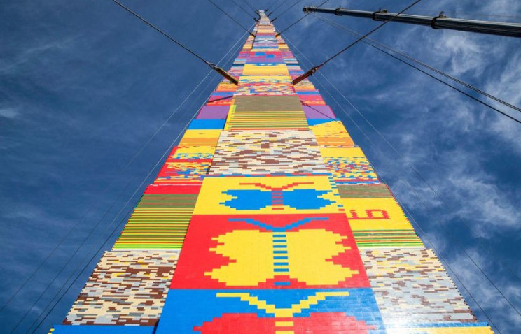 tallest LEGO tower tel aviv
