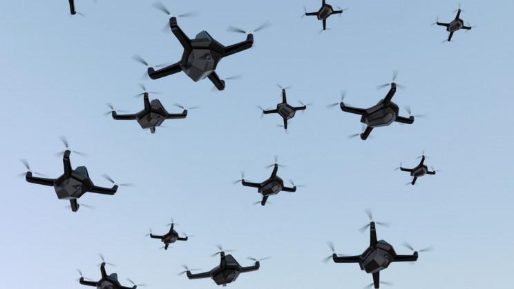 Israel feiert Weltpremiere von vollständig von KI-gesteuerte Drohnenschwärme (Video)
