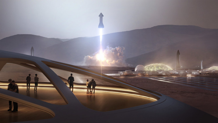 1,000 Starships and 20 Years Are Needed to Build Sustainable City on Mars, Says Elon Musk