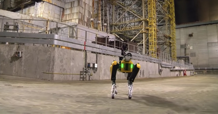 Spot the Robot Dog Seen at Chernobyl Nuclear Power Plant