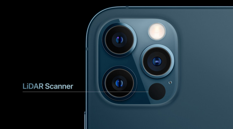 Apple iPhone 12 Pro LIDAR