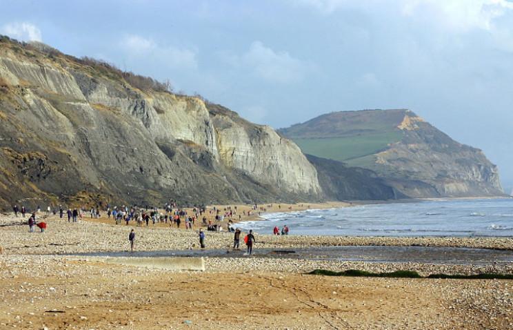 Lyme Regis coast