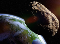 A Jumbo Jet-Sized Asteroid Just Flew between the Earth and Moon