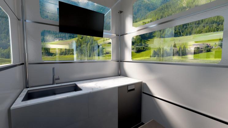CyberLandr Kitchen Space