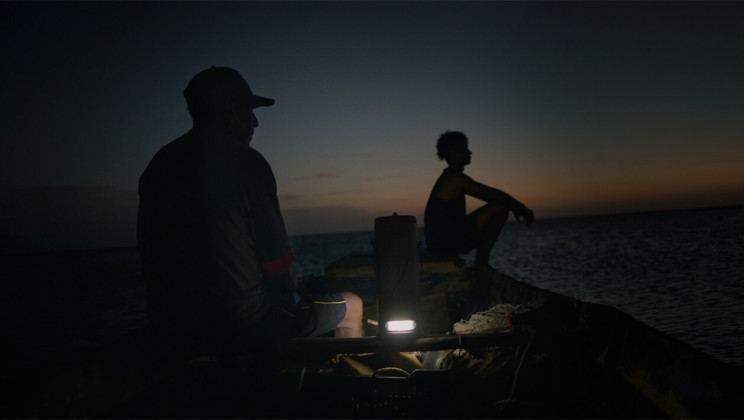 This Portable Lantern Can Be Charged By Salt Water or Urine