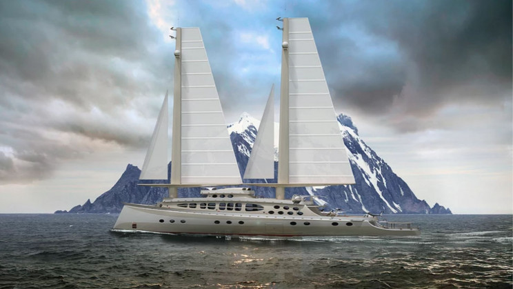 Meet the New Caribù: The Solid-Sailed Super Yacht