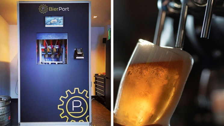 New Beer Vending Machine Might Be the Future of Bars