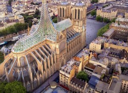 Architects Propose New Solar-Powered Roof for Notre Dame Cathedral