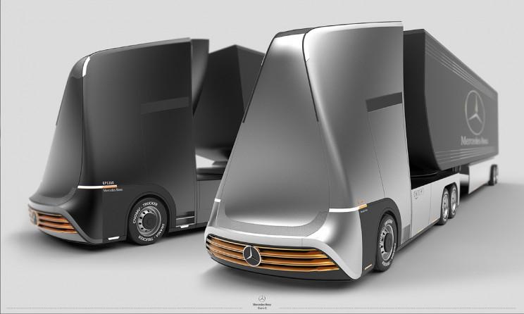 futuristic trucks euro-x