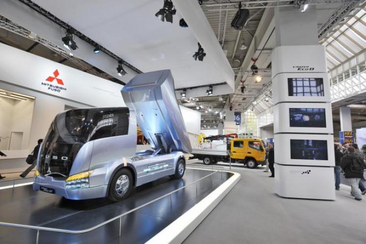 futuristic trucks fuso