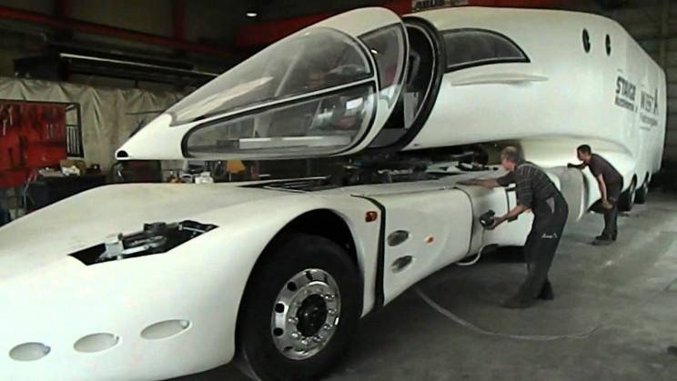 futuristic truck design innotruck