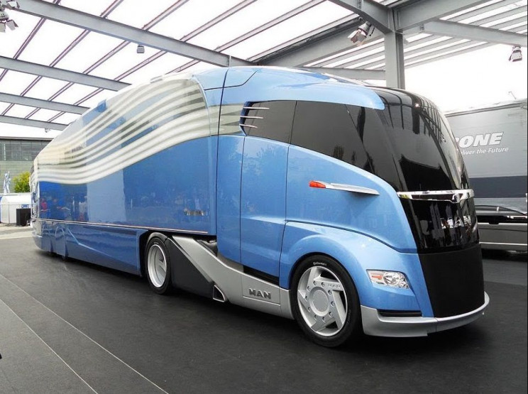 futuristic truck designs MAN