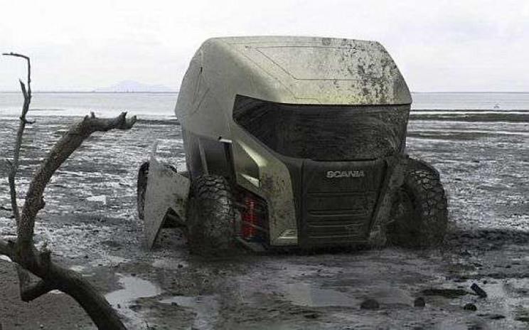 futuristic truck designs motion
