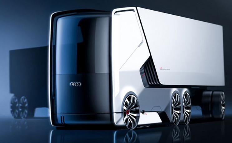 futuristic truck design Truck A