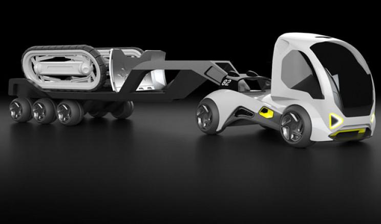 futuristic trucks zukan plan