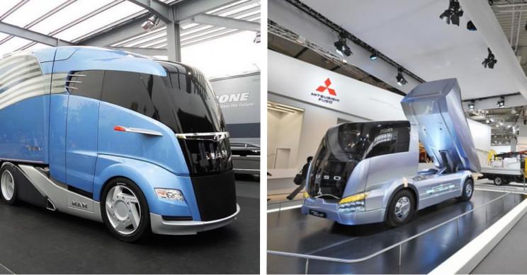 15 Extraordinary and Futuristic Truck Designs