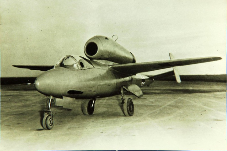 early jets He-162