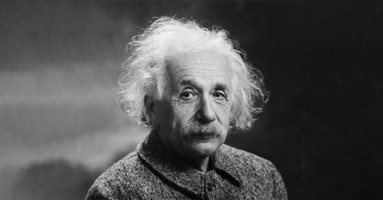 An Official Portait Of Albert Einstein