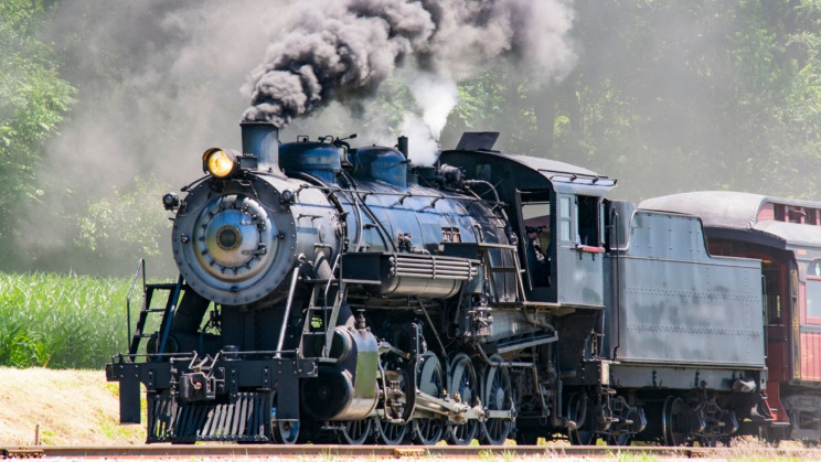 A Steam Train Built in 1944 Is Working After Years of Restoration