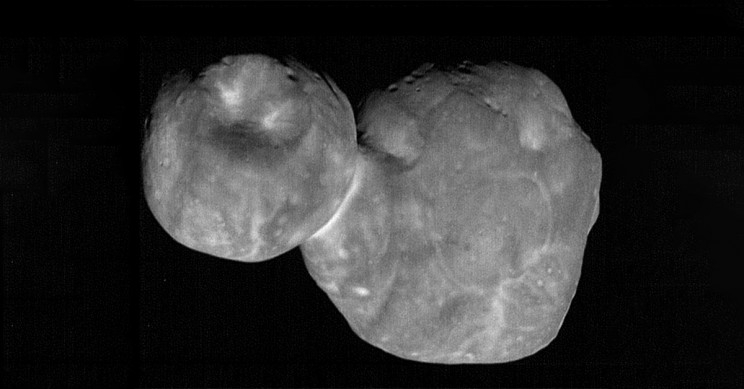 Kuiper Belt Object 486958 Arrokoth